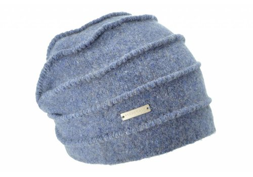 Seeberger Seeberger 016177/63 Blue Wool Hat