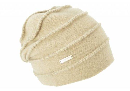 Seeberger Seeberger 016177/94 Sand Wool Hat