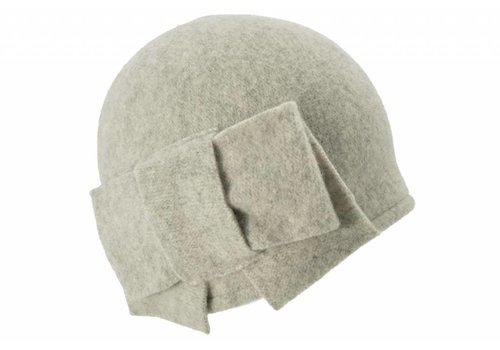 Seeberger Seeberger 011057/13 light Grey Wool Hat