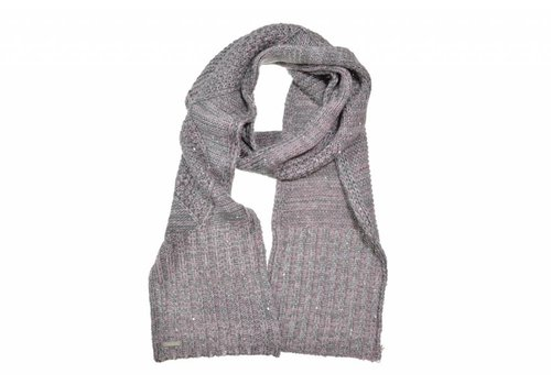 Seeberger Seeberger 017497/11 Anthracite Wool Scarf