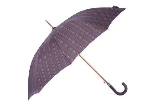 Peach Accessories 1660 Dark Purple stripe umbrella