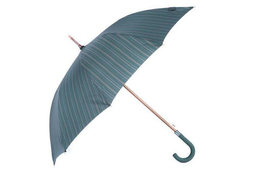 Peach Accessories 1660 Dark green stripe umbrella