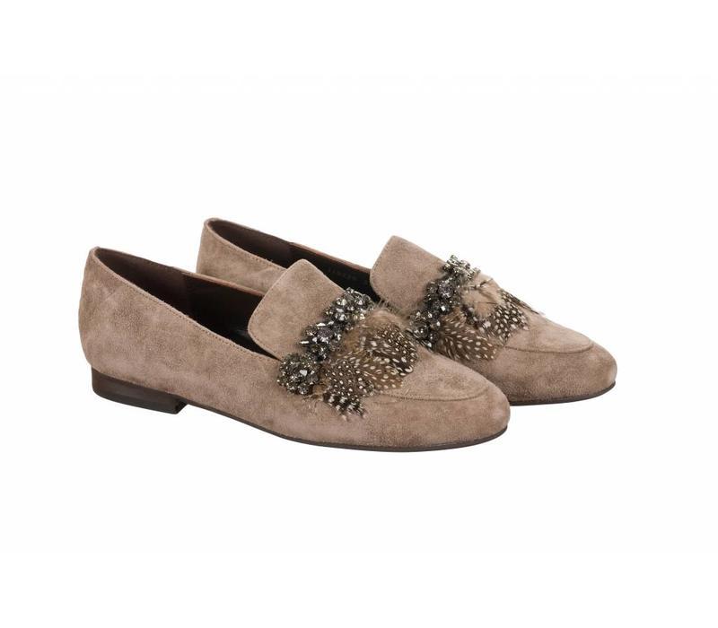 Alma en Pena 118225 Taupe Shoes
