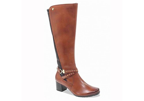 Caprice Boots Caprice 25616 Cognac XL Fit