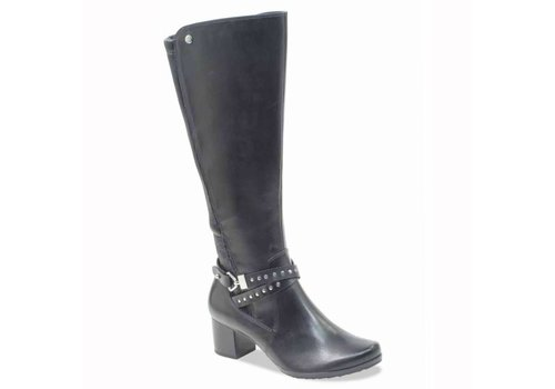Caprice Boots Caprice 25616 Black XL fit boots