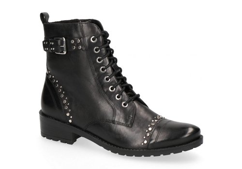 Caprice Boots Caprice 25101 Black Studded A/Boot