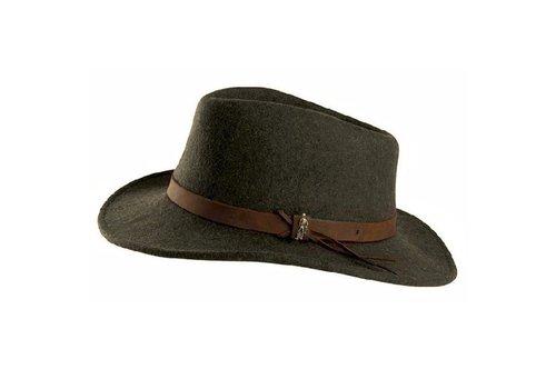Jack Murphy BOSTON Hat Olive crushable Felt