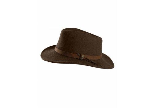 Jack Murphy BOSTON Hat Brown crushable Felt