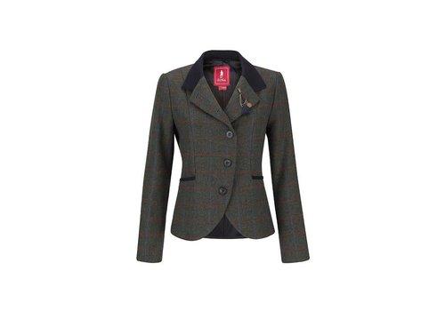 Jack Murphy HARRIET Tweed Jacket Green Check
