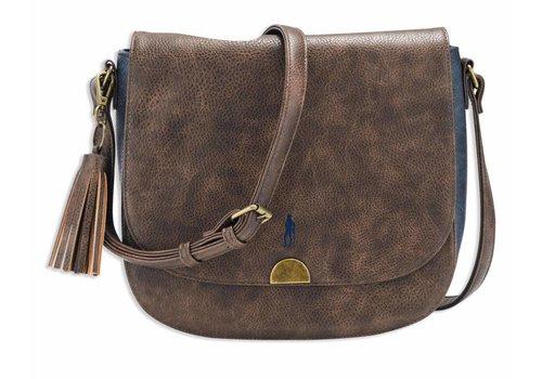 Jack Murphy WALKER Shoulder Bag Chocolate