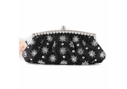 Peach Accessories F7 601 Black Clutch Bag