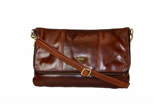 Oriano EDITH crossbody Tan Leather Bag