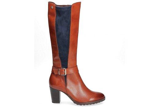 Caprice Boots Caprice 25611 Cognac/Navy boot