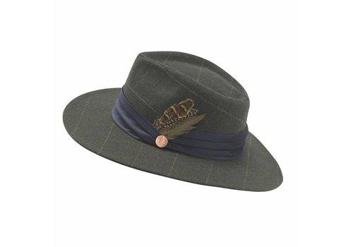 Jack Murphy LEIXLIP Olive Check Tweed Hat
