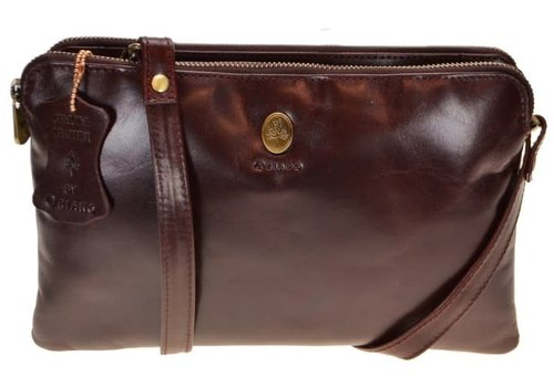 Oriano LEAH Double compartment X-body Bag