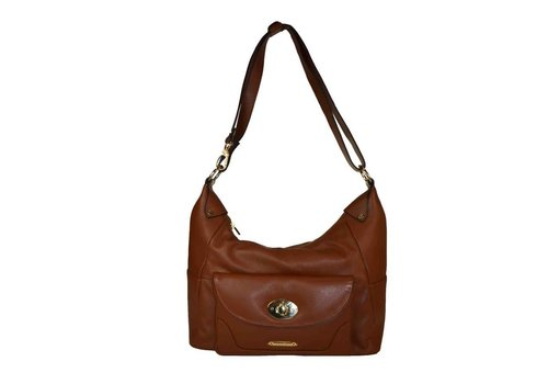 Oriano ANABEL Front lock pocket Hobo Bag