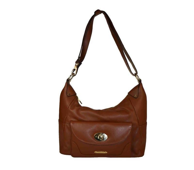 ANABEL Front lock pocket Hobo Bag