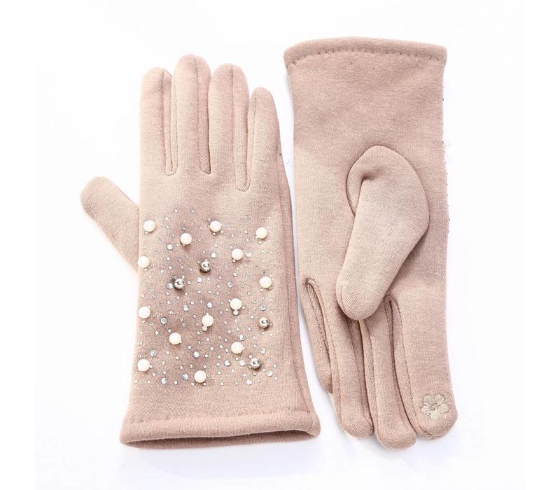 HA72 Beige Pearl Gloves