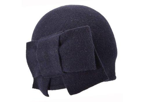 Seeberger Seeberger 011057/60  Blue Wool Hat