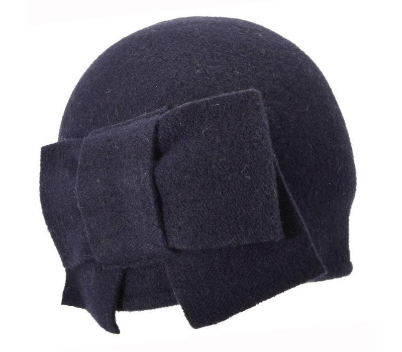 Seeberger 011057/60  Blue Wool Hat