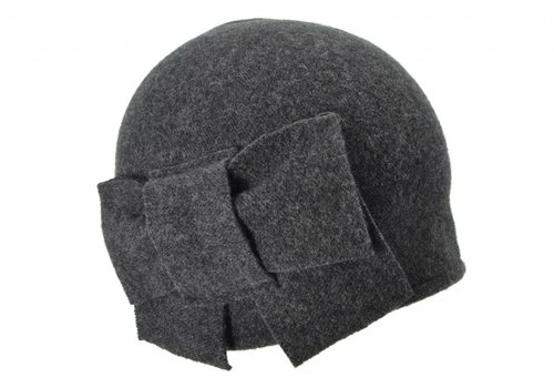 Seeberger Seeberger 011057/11 Anthracite Wool Hat