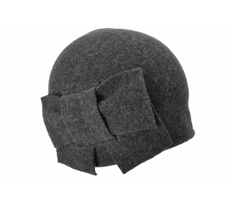 Seeberger 011057/11 Anthracite Wool Hat