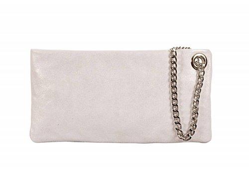 Le Babe Le Babe Luce Silver Ziptop Bag