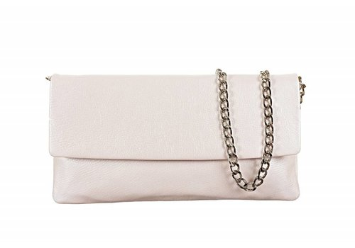 Le Babe Le Babe Perlato Latte Flapover Bag