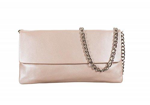 Le Babe Le Babe Perlato Cipria Flapover Bag