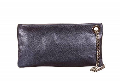 Le Babe Le Babe Perlato Navy Ziptop Bag
