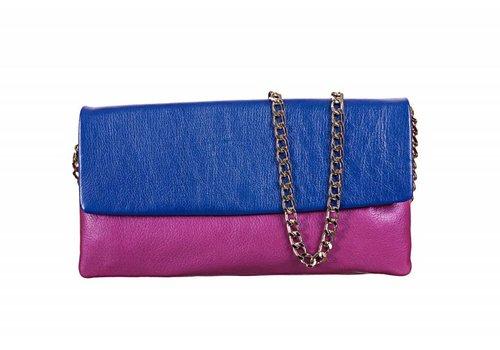 Le Babe Le Babe OOrchid/Bluette Flapover Bag