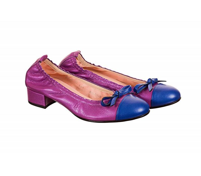 Le Babe 3368S9 Low heel pump