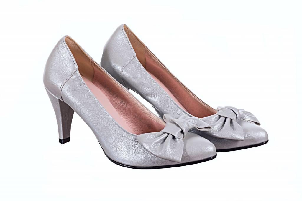 10d1105f43c Le Babe 1384S9 Perlato Perla W Bow trim - Footprints Shoe Boutique