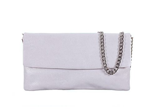 Le Babe Le Babe Luce Grigio Flapover Bag