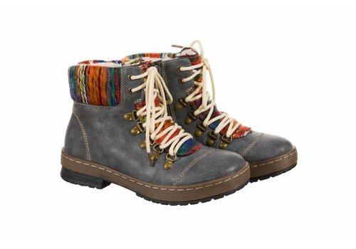 REDZ REDZ 18W169-1805 Blue Laced Boot