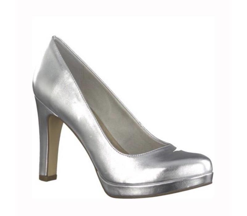Tamaris 22426 Silver Metallic platform