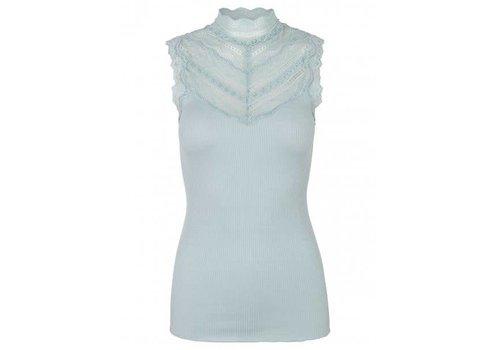 Rosemunde Rosemunde 4507-217 Silk Top W/Lace neckline