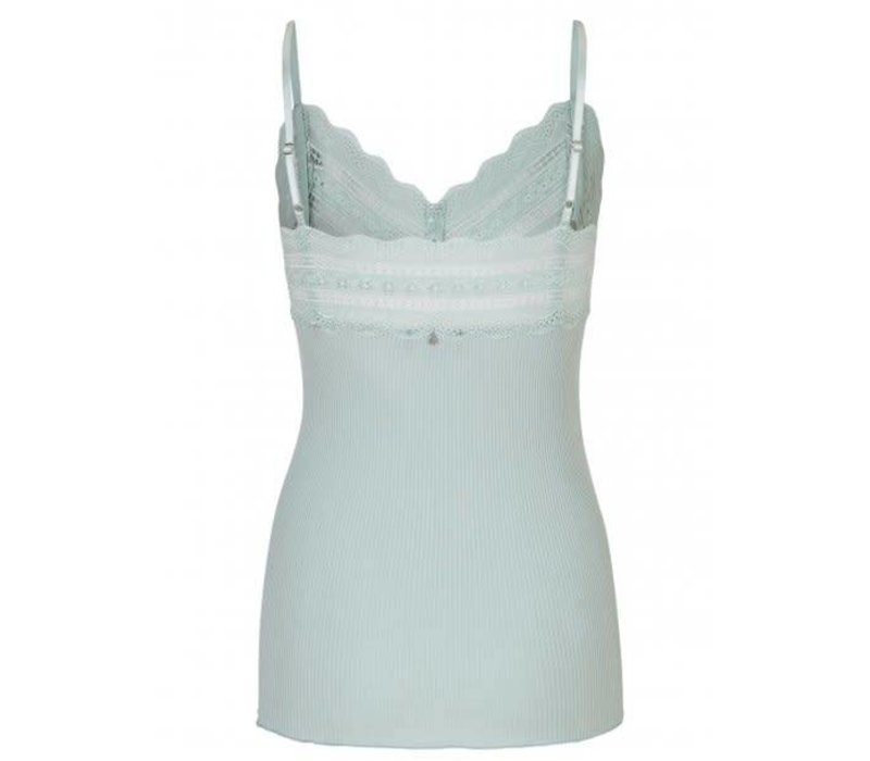 Rosemunde 5526-217 Blue Strap Top with lace