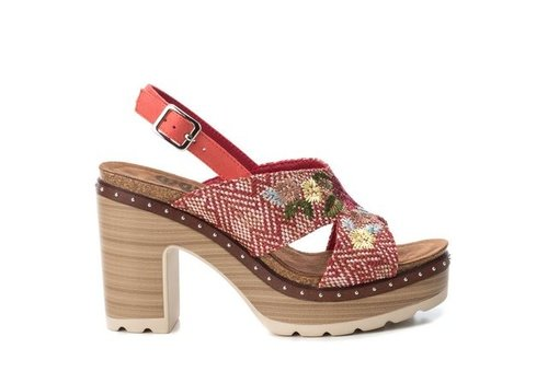 Refresh S/S Refresh 69813 Red Floral Sandals