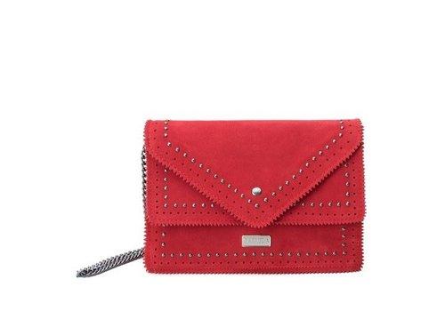 Carmela Carmela 86102 Red Suede Bag