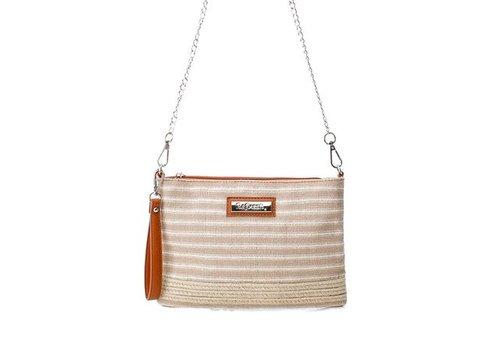 Refresh S/S Refresh 83202 Tan multi Bag