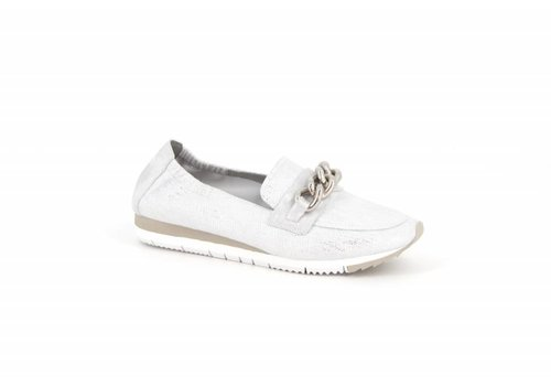 Mamzelle Mamzelle ENVILA Silver Loafers