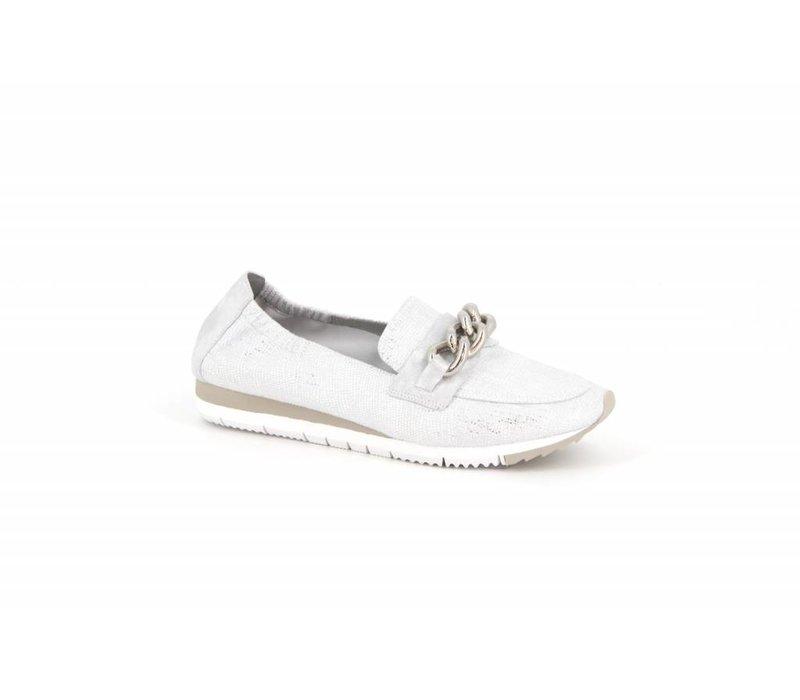 Mamzelle ENVILA Silver Loafers