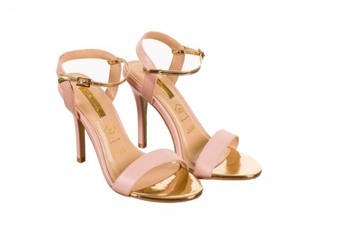 Glamour Glamour SUZY Pink Strap Sandals