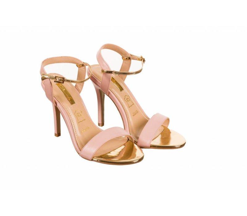 Glamour SUZY Pink Strap Sandals