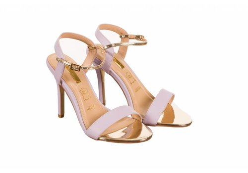 Glamour Glamour SUZY Lilac Strap Sandals