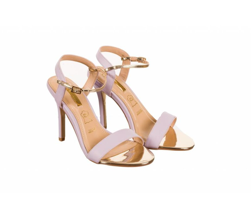 Glamour SUZY Lilac Strap Sandals