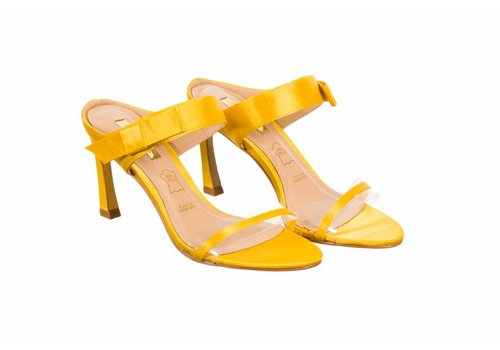 Glamour Glamour SELINA Yellow Sliders
