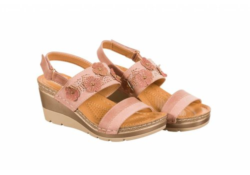 REDZ REDZ 9Q6022-B7 Pink Sandals
