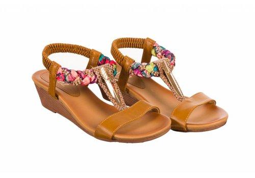 REDZ REDZ 3806-1 Tan Sandals